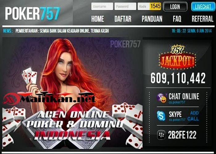 Menghitung Bonus Menarik Agen Judi Online Poker757