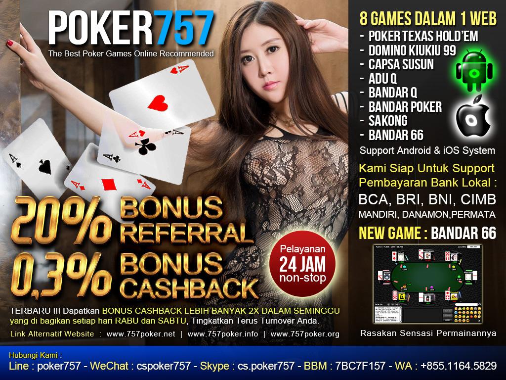 Panduan Cara Bermain Judi Domino99 Online Poker757