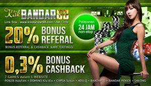 Agen Judi Poker Online Terpercaya Klikbandar88