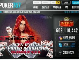 Bonus Terbaik Agen Judi Online Terbesar Indonesia Poker757