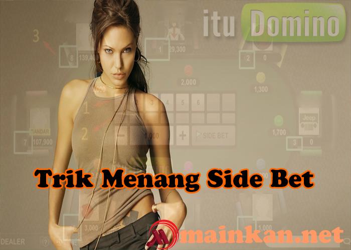 Trik Menang SIDE BET Adu Balak Bandar 66 Online ituDomino