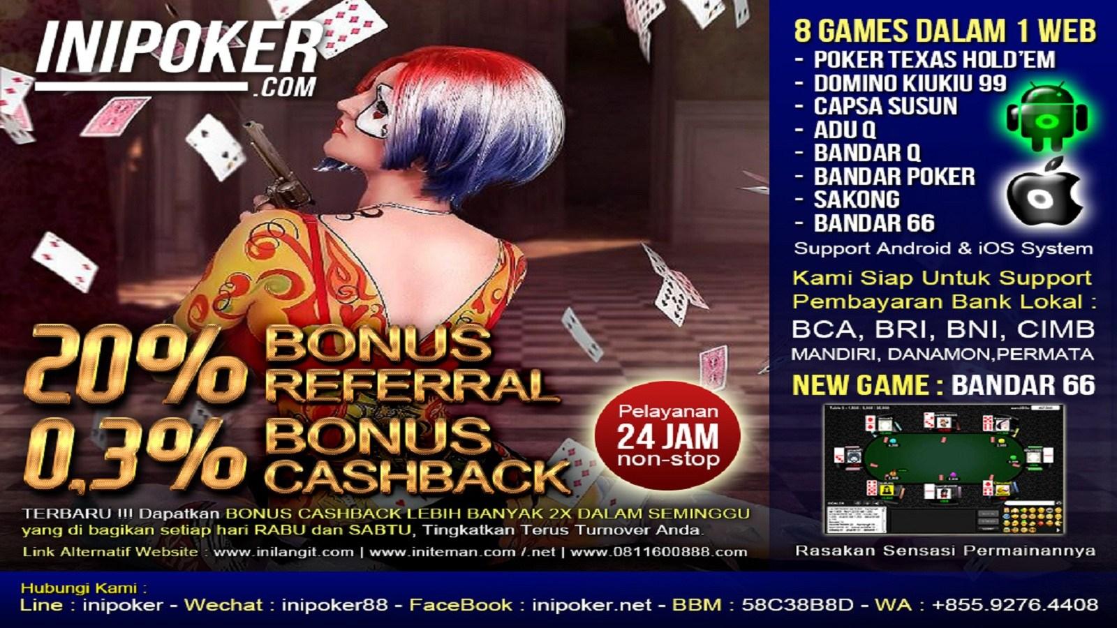 Agen Bandar Poker Online Terpercaya IniPoker