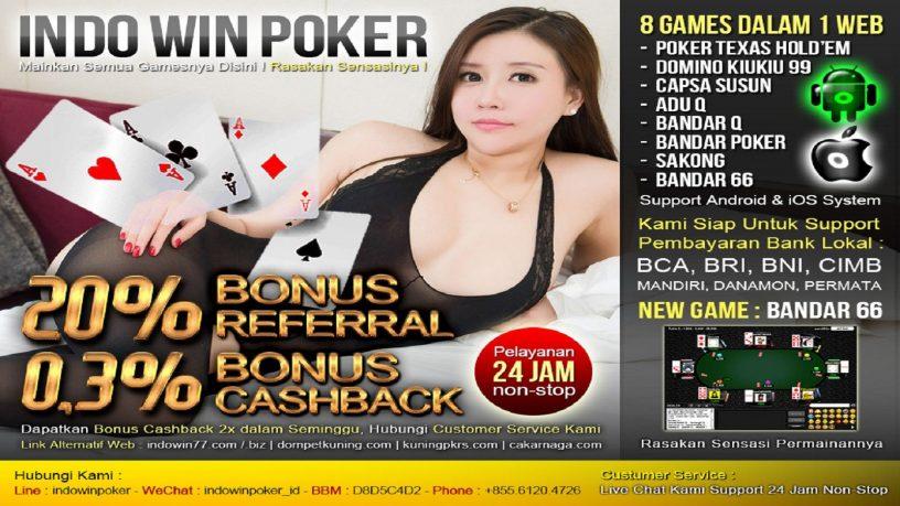 Agen IndowinPoker Situs Poker Online Terbaik