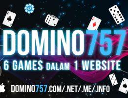 Agen Judi Poker Online Terbaik Domino757