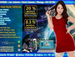 Agen Judi Poker Online Terpercaya XoDomino