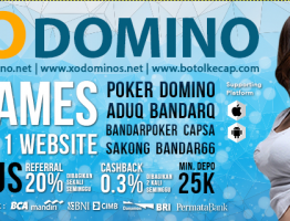 Situs Judi Online Terpercaya Indonesia XoDomino