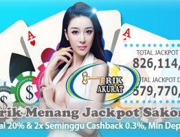 Trik Mendapatkan Jackpot Sakong Agen KlikBandar88