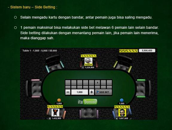 Trik Mengalahkan Player Lain Dalam Side Bet Agen ITUDOMINO