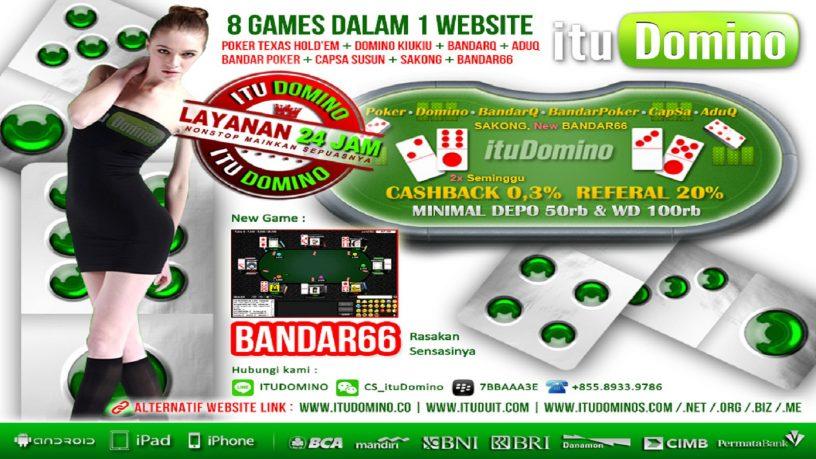 ituDomino Agen Poker Online Indonesia