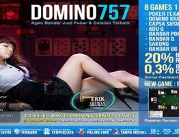 Agen BANDAR 66 Online Terpercaya Domino757