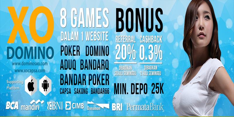 Agen Poker Domino Online Terpercaya XoDomino
