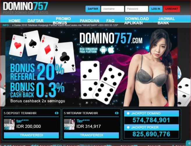 Bonus Menarik Agen Poker Online Terpercaya Domino757