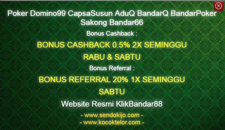 Bonus Tertinggi Agen Poker Online KlikBandar88