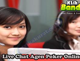 Live Chat Agen Poker Online KlikBandar88