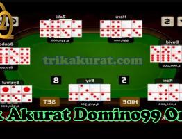 Trik Akurat Judi Domino99 Online Agen ituQQ