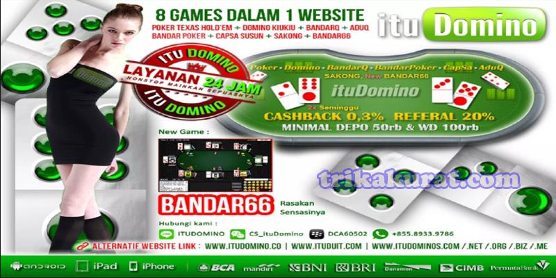 Agen Bandar Sakong Online ituDomino Indonesia