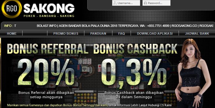 Agen BandarQ Online RgoSakong Indonesia