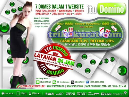 Agen Judi Online No.1 di Indonesia ITUDOMINO