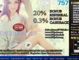 Alternatif Link Agen Sakong Online Poker757