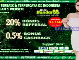 Bonus Menarik Agen Domino Indonesia KlikBandar88