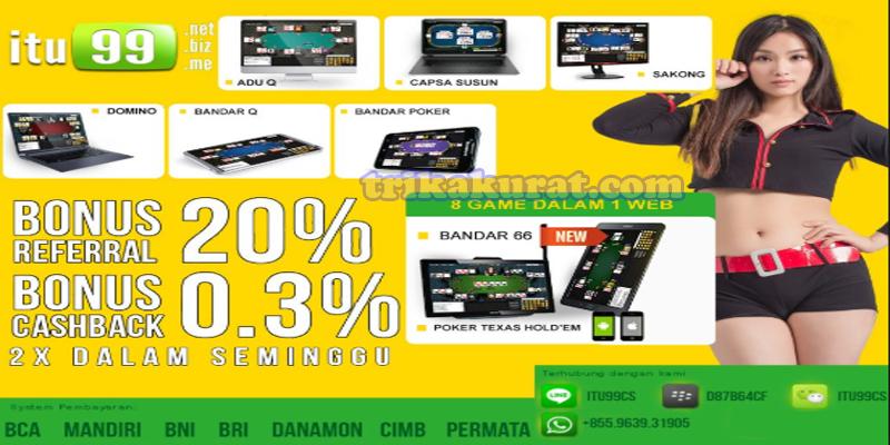 Situs Domino Online Terbaik Agen itu99