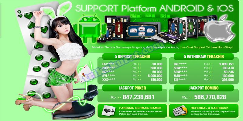 Situs Judi Poker Domino Online Agen Sakong99