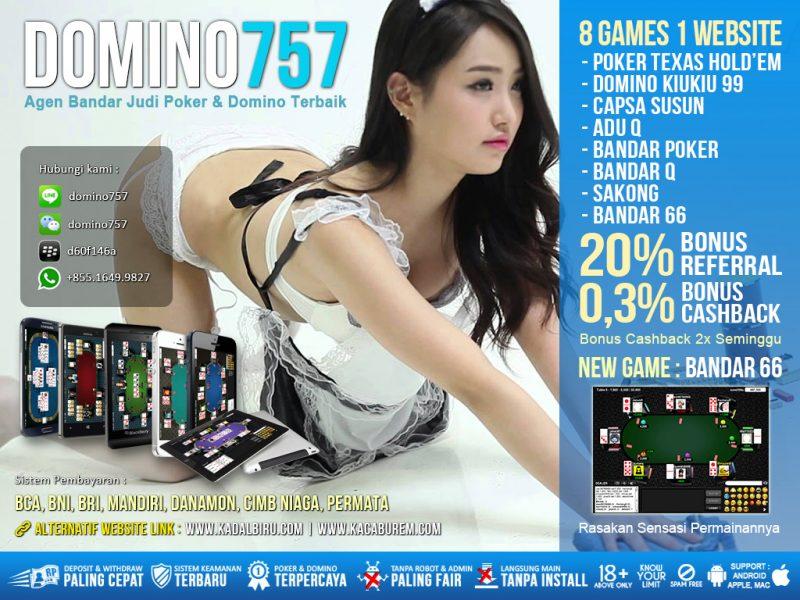 Livechat Poker Domino757