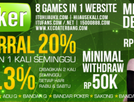Agen Judi Online Terbaik Indonesia ituPoker