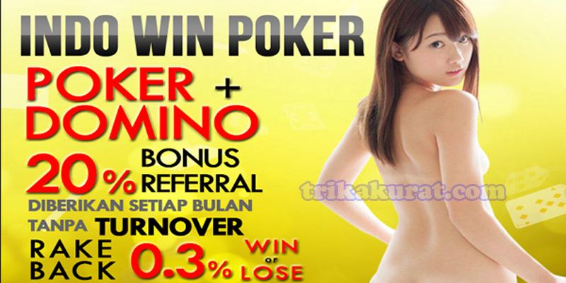 Situs Domino Online Terpercaya indowinPoker