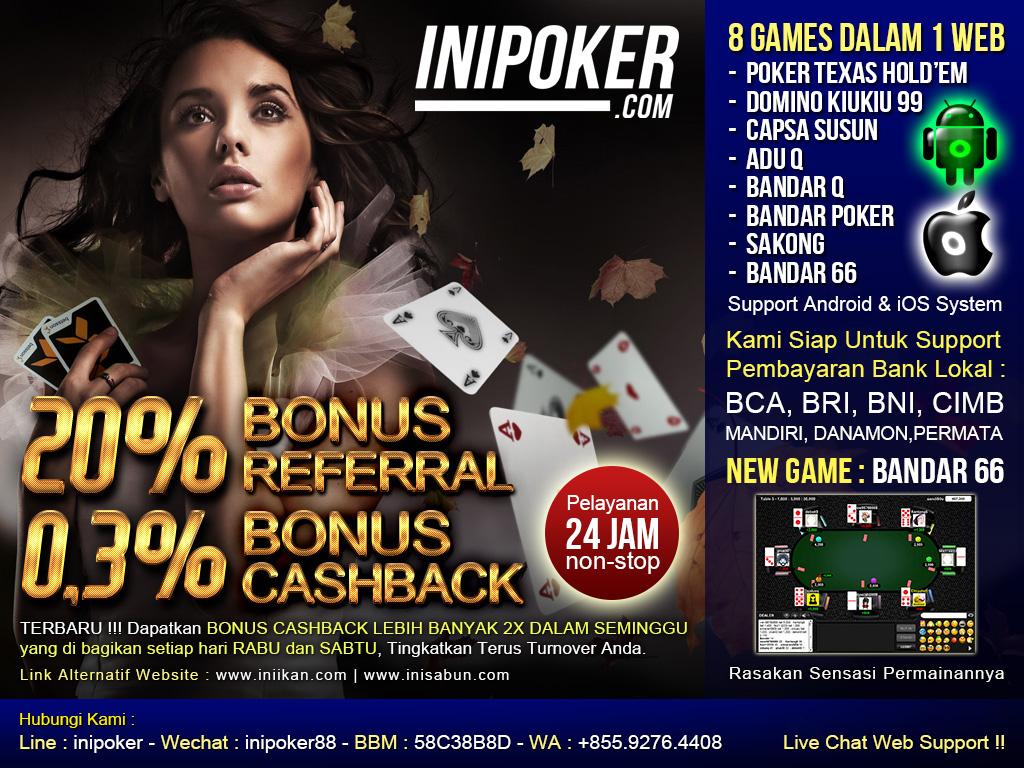 Livechat Poker Online iniPoker