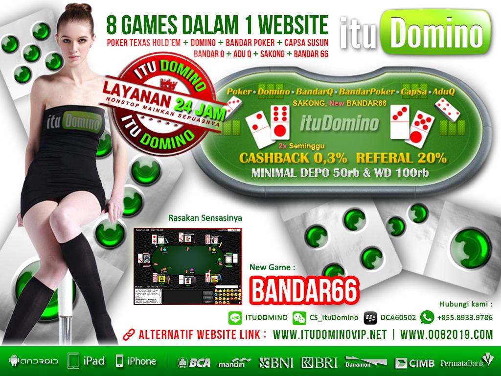 Live Chat Bandar66 ituDomino