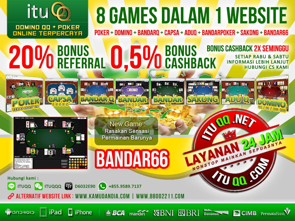 Live Chat Bandar66 ituQQ