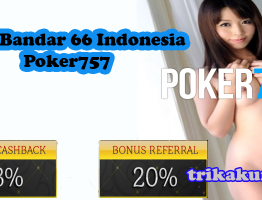 Agen Bandar 66 Indonesia Poker757