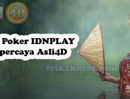 Agen Poker IDNPLAy Terpercaya Asli4D