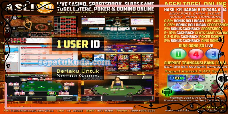 Agen Slot Games Indonesia Asli4D