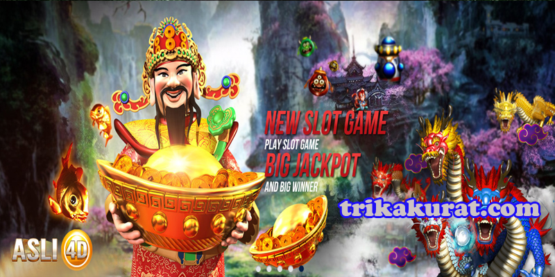 Agen Slot Games Terpercaya Asli4D