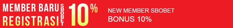 Bonus New Member Sbobet Agen Asli4D