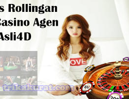 Bonus Rollingan Live Casino Agen Asli4D