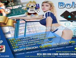 Bonus Rollingan Live Casino Agen Bola57