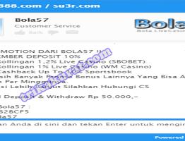Livechat Slot Games Bola57