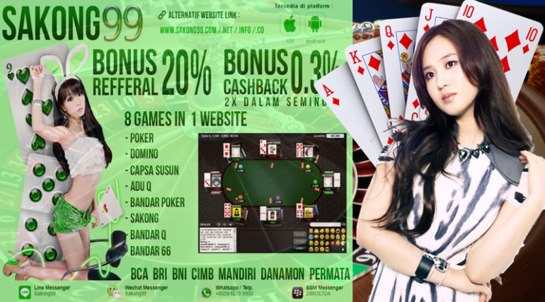Situs Domino Online Terbaik Agen Sakong99