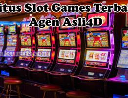 Situs Slot Games Terbaik Agen Asli4D