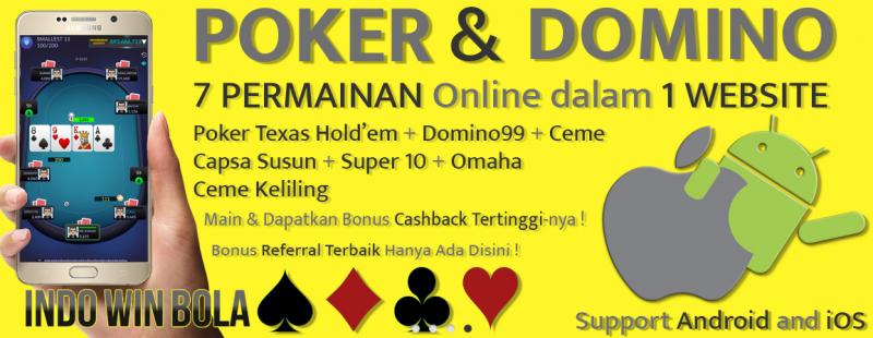 Agen Poker Domino Online IndowinBola