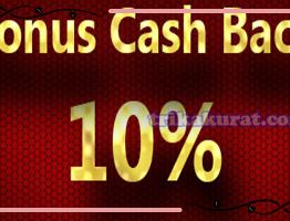 Bonus Cashback 10% Bola Sbobet Asli4D