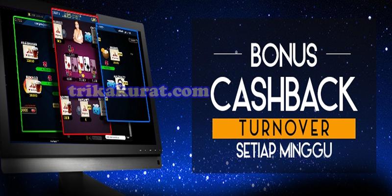 Bonus Cashback Poker Tertinggi Agen Dermaga4D