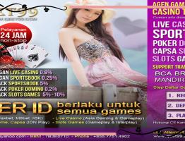 Livechat Poker QBet99