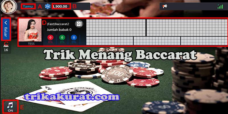 Trik Menang Baccarat WM Casino Agen Asli4D