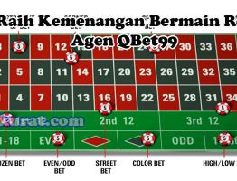 Trik Raih Kemenangan Bermain Roulette Agen QBet99