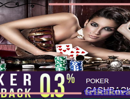 Agen Poker Bonus CashBack 0,3% QBet99