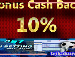 Cashback Bola Sbobet 10% Agen Bola57